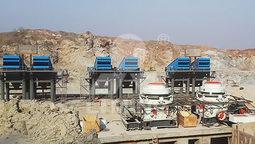 1000TPH Granite Crushing Line