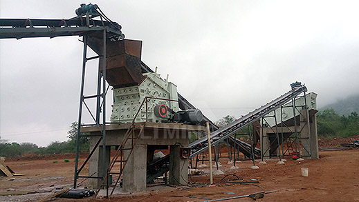 120TPH Granite Crushing Line
