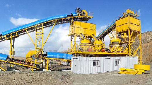500TPH Iron Ore Crushing Plant in Mongolia