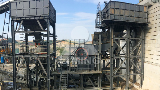 120TPH Tungsten Ore Crushing Plant in Vietnam
